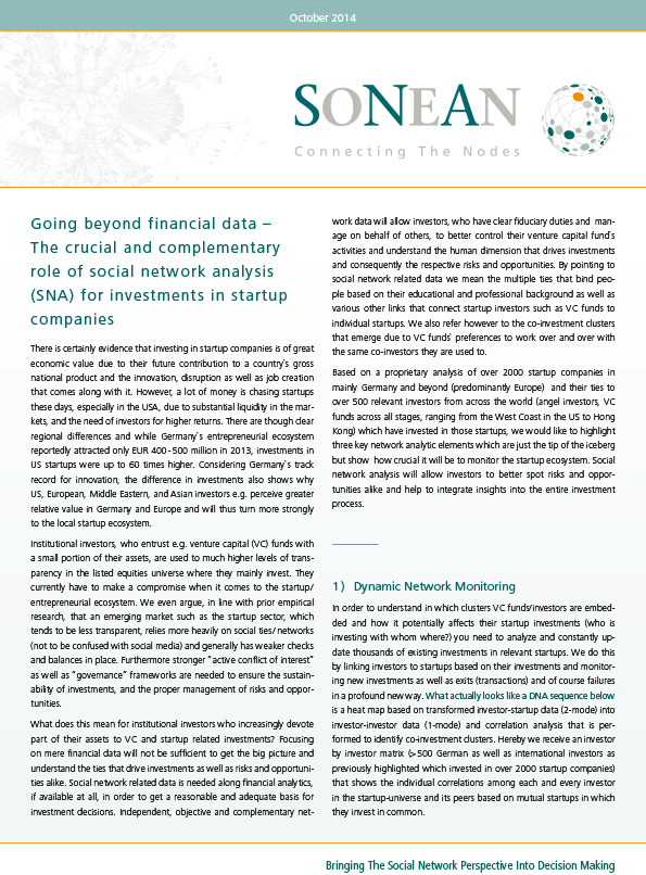SONEAN Whitepaper October 2014